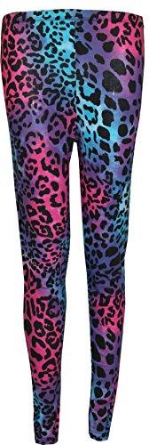 Generic - Legging - Skinny - Femme Neon Leopard