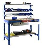 Simonrack bt-1 - Kit box-1500 azul madera
