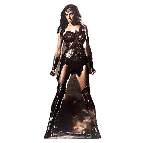 DC Comics Wonder Woman (Gal Gadot) Life Größe Pappe, Multi Farbe -