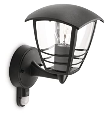 Philips MyGarden Creek Outdoor Wall Light (Requires 1 x 60 Watts E27 Bulb)