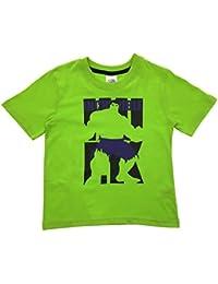 Marvel Boys Short Sleeve Avengers Incredible Hulk T Shirt Kids Summer Top Size 3-10 Years
