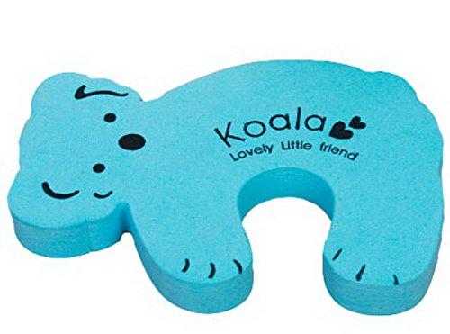 Cartoon Baby porte de sécurité Doorstop empêcher Nipping main (Koala bleu)