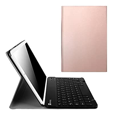 Fintie Blade X1 Samsung Galaxy Tab E 9.6 Keyboard Case Cover - Slim Shell Light Weight Stand with Magnetically Detachable Wireless Bluetooth Keyboard for Tab E 9.6-Inch Tablet