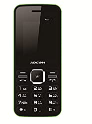 ADCOM Aqua 121 dual sim mobile phone_ Black & Green