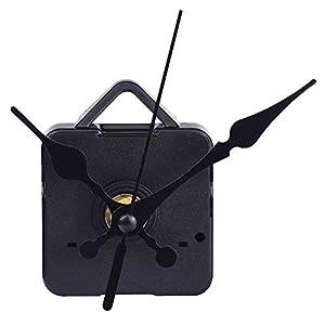 Quartz Clock Movements Mechanism Parts, 3/ 25 Inch Maximum Dial Thickness, 1/ 2 Inch Total Shaft Length