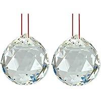 Toowood K9de bola de cristal prismas de gota cristal óptico Prisma Triangular Pirámide para fotografía decoración regalo de cumpleaños enseñanza