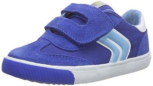 Geox B Kiwi Boy E, premiers pas chaussures bébé garçon Bleu (Royal/Skyc4380)