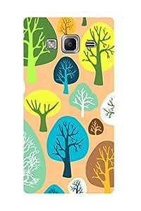 ZAPCASE PRINTED BACK COVER FOR SAMSUNG TIZEN Z3- Multicolor