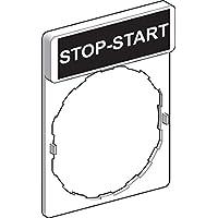 Schneider elec pic - mss 40 17 - Portaetiquetas con etiqueta stop-start