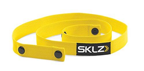 SKLZ Pro Training Agility Bands Fussballtrainer, gelb-Schwarz, One Size