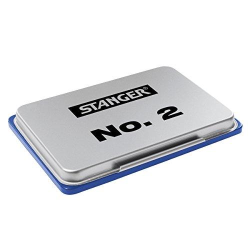 Stanger 1801503 Stempelkissen 2 metall, blau