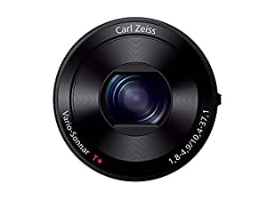 Sony DSC-QX100 20.2MP Cyber-Shot Lens-Style Camera (Black)