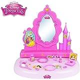 071250 Tocador con espejo motivo de princesas disney (18 accesorios)