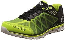 Fila Mens Romeo Energized Safety Yellow, Black and White Running Shoes - 11 UK/India (45 EU)
