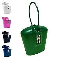 Safego taşınabilir Travel LockBox Safe anahtar ve kombinasyon ile erişim Yeşil