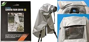 Kaavie - Fotocamera reflex digitale e pioggia Copriobiettivo per obiettivo fino a 300mm