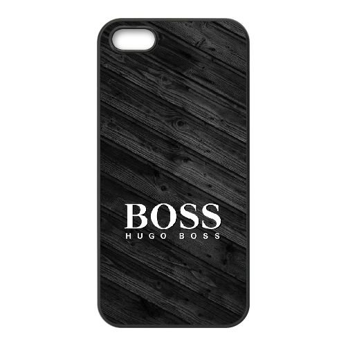 Hugo Boss Brand Logo For Cell Phone Case iPhone 5 5s SE Black Phone Covers I9I520691 (5s Wwe Iphone)