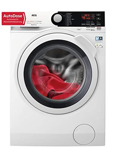 AEG L7FB78490 Waschmaschine / 9 kg / Waschvollautomat mit Mengenautomatik, Nachlegefunktion, Kindersicherung, Schontrommel, Wifi Vernetzung per WLAN / 1400 U/min