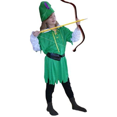 Kostüm Robin Kleinkind Hood (AN17 7-9 Robin Hood Kostüm Kostüme Bogenschützekostüm Fasching)