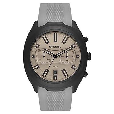 Diesel Reloj Cronógrafo para Hombre de Cuarzo con Correa en Silicona DZ4498