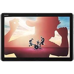 """HUAWEI MediaPad M5 lite 10 Wi-Fi Tablette Tactile 10.1"""" Gris (32Go, 3Go de RAM, Android 8.0, Bluetooth, Quatre haut-parleurs)"""
