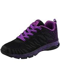 ZODOF Flying Woven Shoes Air Cushion Sneakers Student Net Calzado de Running