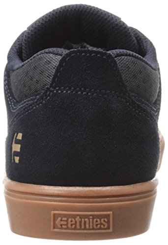 Etnies Jameson Mt, Chaussures de Skateboard Homme Bleu (Navy Gum Gold 461)