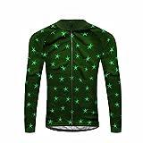 Uglyfrog #41 Neue Männer Radfahren Langarm Radfahren Jersey Winter with Fleece eine Menge Farben Antislip Ärmel Cuff Road Bike MTB Top Riding Shirt