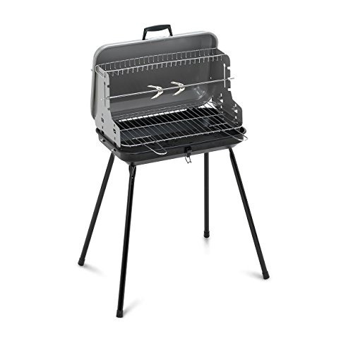 41w0XAYvq3L. SS500  - Algon Portable Barbecue - 47 x 29 x 55cm / 49 x 30 x 14cm (when folded).