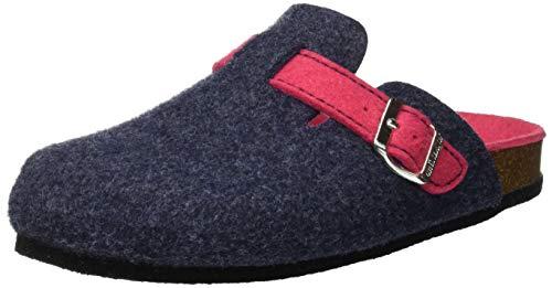 Grunland sara, scarpe da spiaggia e piscina donna, (blu-fragola blfg), 38 eu