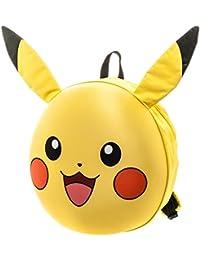 Oficial Pokemon Pikachu 3D carácter moldeado bolsa mochila escolar - Go Nintendo
