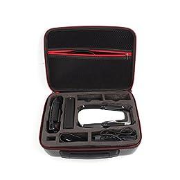 DJI Mavic Air Drone accesorios, upxiang portátil de mano bolsa de almacenamiento para el hombro mochila bolsa impermeable a prueba de golpes Funda de transporte para DJI Mavic aire