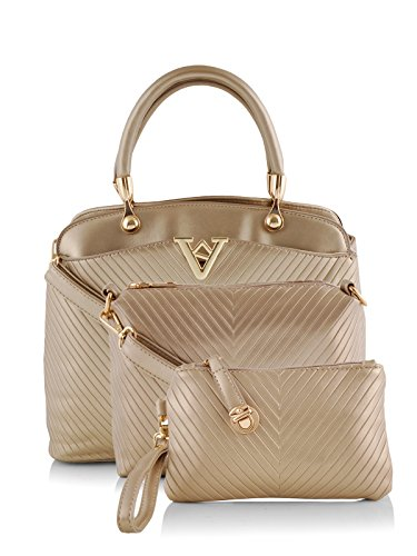 Mark & Keith Women Handbag Gold MBG 0302 GDN