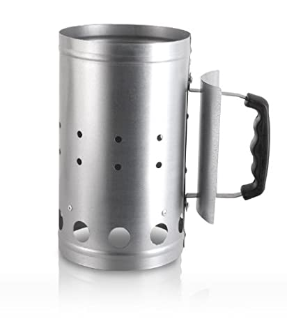 Essential Charcoal Coal Fireplace Chimney BBQ Starter Lighting Kit 27cm