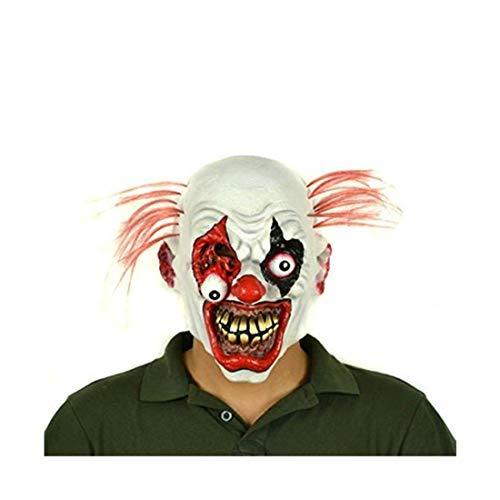 Kostüm Party Dora - Hyaline&Dora Halloween-Kostüm, Latex, Clown-Maske für Erwachsene, Halloween-Kostüm, Party-Requisiten, Masken Clown
