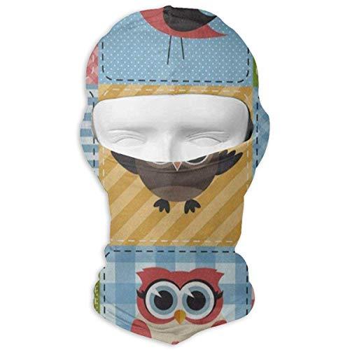 Animal-print Knit (Balaclava Cartoon Llama Animal Print Fabulous Face Mask for Youth Motorcycling & Winter Sports)