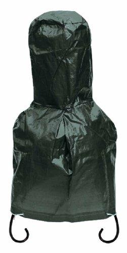Gardeco CHICOVER0 Plastic Seater Small Chimenea Cover - Green