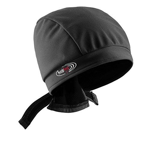 Stall-Mütze mit Bändern   schützt zuverlässig vor Stallgeruch   für jede Frisur und Haarlänge geeignet (schwarz, S)