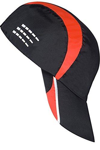 Running Cap Erstellt von Top Designer, Ultimate Safety 3M Reflektierende Jogging-Ausrüstung, Leichtes und Regen-beständiges, verstellbares Band mit 2 Größen passt perfekt für Männer und Frauen (rot, L/XL)