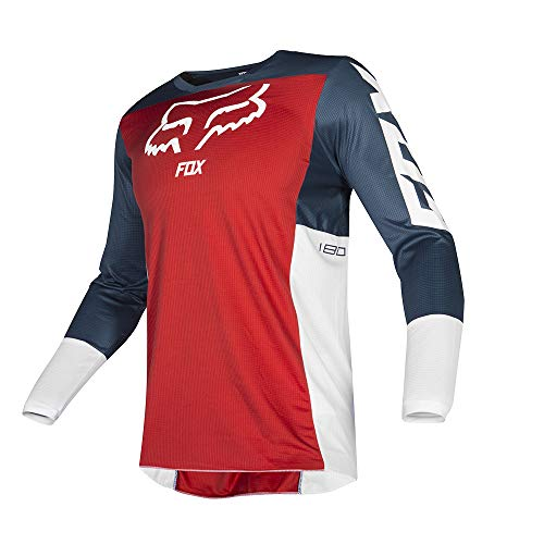 Fox Jersey 180 Przm Navy/Red L