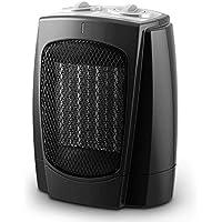 ZBJJ Mini Calentador eléctrico 1800W PTC Calentador de Ventilador de cerámica portátil con 2 configuraciones de Calor Termostato y Corte de Seguridad para el hogar y la Oficina