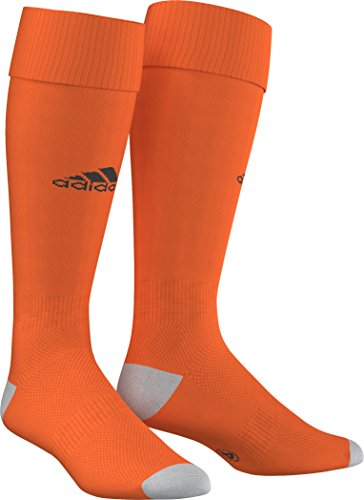 Adidas Unisex Kinder Milano 16 Socken, Orange/Schwarz, 4.5-6 UK (37-39 EU)