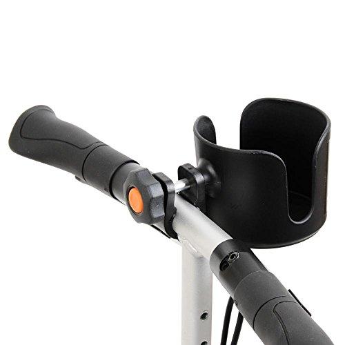 Getränkehalter für Rollstühle / Rollatoren / Gehhilfen / Fahrräder / Knie-Rollator / Knie-Scooter (Scooter Getränkehalter Für)