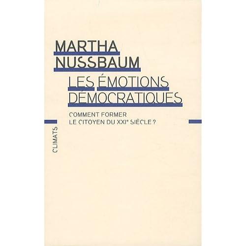 Les émotions démocratiques : Comment former le citoyen du XXIe siècle ?