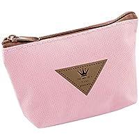 BIGBOBA canvas pencil bag bolso de mujer lindo pequeño para guardar llaves, barra de labios, monedas, tarjetas, móvil
