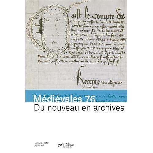 Du nouveau en archives : Pratiques documentaires et innovations administratives (XIIIe-XVe siècles)