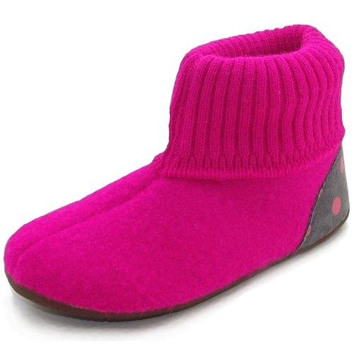 Living Kitzbühel 2445, Chaussons mixte enfant pink glo