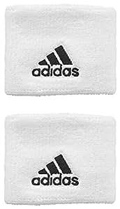 Adidas Men's Ten Wb S Wrist Band - White, Medium