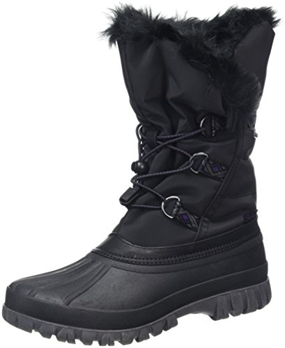 Skechers Damen Windom Stiefel, Schwarz (Black), 38 EU (Stiefel Fashion Skechers)