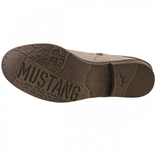Mustang 1157-518-243, Bottes femme Elfenbein (243 ivory)